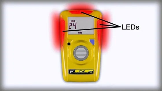 BW Clip单气体检测仪 免维护