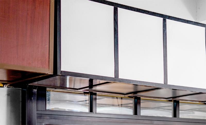 铝合金透视排挂车库门包厢