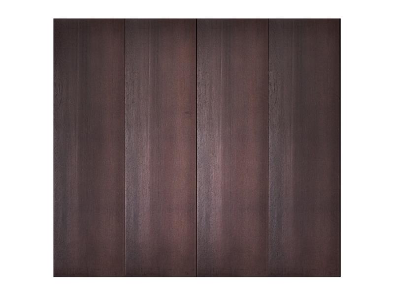 中式实木折叠车库门油漆工艺